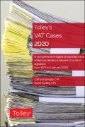 Cover of Tolley's VAT Cases 2020