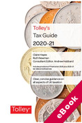 Cover of Tolley's Tax Guide 2020-21 (eBook)