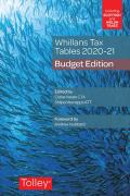 Cover of Whillans's Tax Tables 2020-21: Budget Edition