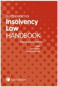 Cover of Butterworths Insolvency Law Handbook 2020