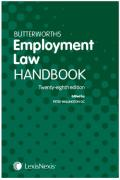 Cover of Butterworths Employment Law Handbook 2020