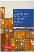 Cover of Tolley's Customs and Excise Duties Handbook Set 2020-21
