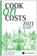 Cover of Cook on Costs 2021
