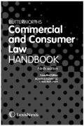 Cover of Butterworths Commercial and Consumer Law Handbook
