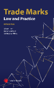 Cover of Trade Marks: Law and Practice