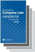 Cover of Two Volume Set: Butterworths Company Law Handbook 2020 & Tolley's Company Secretary's Handbook 30th edition