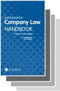 Cover of Two volume set: Butterworths Company Law Handbook 2020 & Tolley's Company Law Handbook 2020