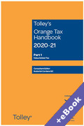 Cover of Tolley's Orange Tax Handbook 2020-21 (Book & eBook Pack)