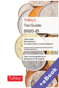 Cover of Tolley's Tax Guide 2020-21 (Book & eBook Pack)