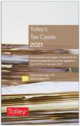 Cover of Tolley's Tax Cases 2021