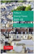 Cover of Tolley's Stamp Taxes 2021-22