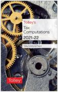 Cover of Tolley's Tax Computations 2021-22