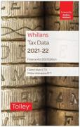 Cover of Whillans Tax Data 2021: Finance Act Edition