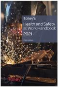 Cover of Tolley's Health and Safety at Work Handbook 2021