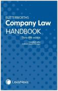 Cover of Butterworths Company Law Handbook 2021