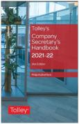Cover of Tolley's Company Secretary's Handbook 2021-22