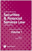 Cover of Butterworths Securities and Financial Services Law Handbook 2021