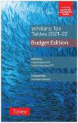 Cover of Whillans Tax Tables 2021-22: Budget Edition