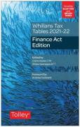 Cover of Whillans Tax Tables 2021-22: Finance Act Edition