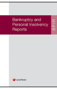 Cover of Bankruptcy and Personal Insolvency Reports