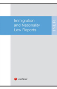Cover of Immigration and Nationality Law Reports: Parts Subscription