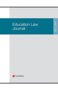 Cover of Education Law Journal