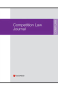 Cover of Competition Law Journal