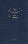 Cover of Atkin's Court Forms