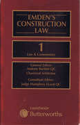 Cover of Emden's Construction Law 2005 JCT Contracts Looseleaf