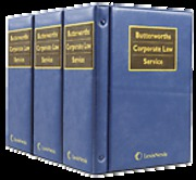 Cover of Butterworths Corporate Law Service Looseleaf Service