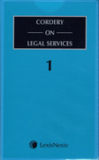 Cover of Cordery on Legal Services Looseleaf
