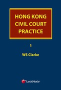 Cover of Hong Kong Civil Court Practice Looseleaf