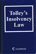 Cover of Tolley's Insolvency Law Looseleaf