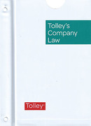 Cover of Tolley's Company Law Looseleaf Service (Pay-In-Advance)