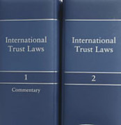 Cover of International Trust Laws Looseleaf