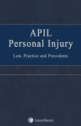 Cover of APIL Personal Injury Law, Practice and Precedents Looseleaf