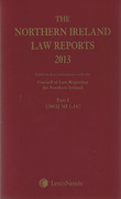 Cover of The Northern Ireland Law Reports: Subscription