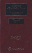 Cover of Nigerian Oil and Gas Cases Volume 8 2011