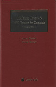 Cover of Drafting Trusts and Will Trusts in Canada