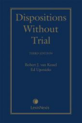 Cover of Dispositions Without Trial