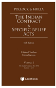 Cover of Pollock & Mulla: The Indian Contract and Specific Relief Acts