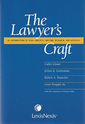 Cover of The Lawyer's Craft: An Introduction to Legal Analysis, Writing, Research, and Advocacy