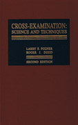 Cover of Cross-Examination: Science and Techniques 2nd ed with 2012 Cumulative Supplement
