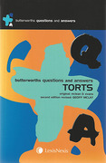 Cover of Butterworths Questions and Answers: Torts (New Zealand)