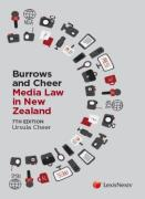 Cover of Media Law in New Zealand