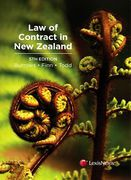Cover of Law of Contract in New Zealand
