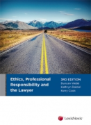 Cover of Ethics, Professional Responsibility and the Lawyer