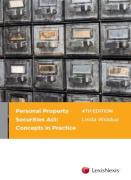 Cover of Personal Property Securities Act: A Conceptual Approach
