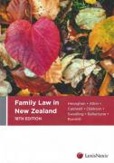 Cover of Family Law in New Zealand