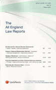 Cover of All England Law Reports: Bound Volumes and Parts Subscription